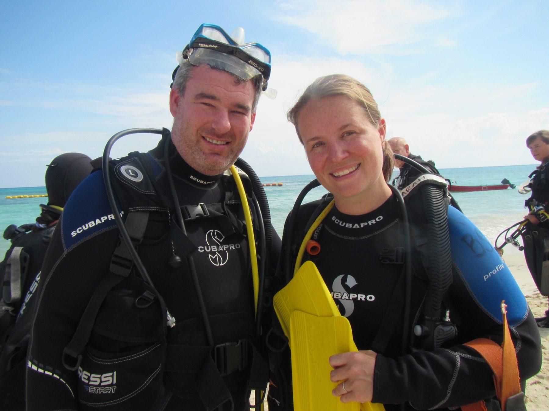 Diving playa del carmen mexico