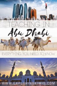 Experience teaching Abu Dhabi UAE